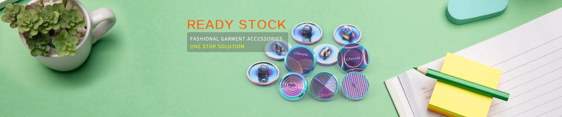 Button manufacturer